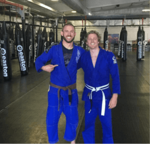blue gi duo
