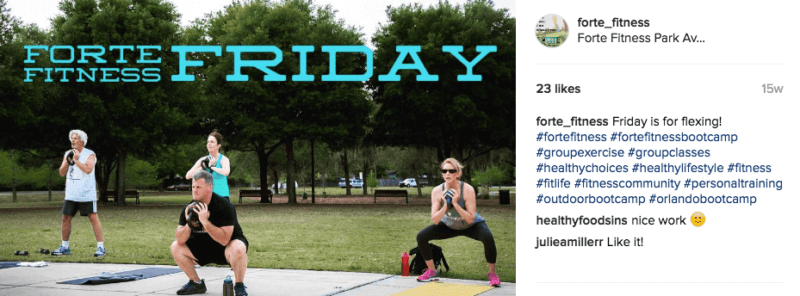 forte friday bootcamp FB
