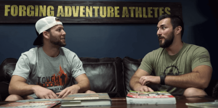 adventure athletes on couch
